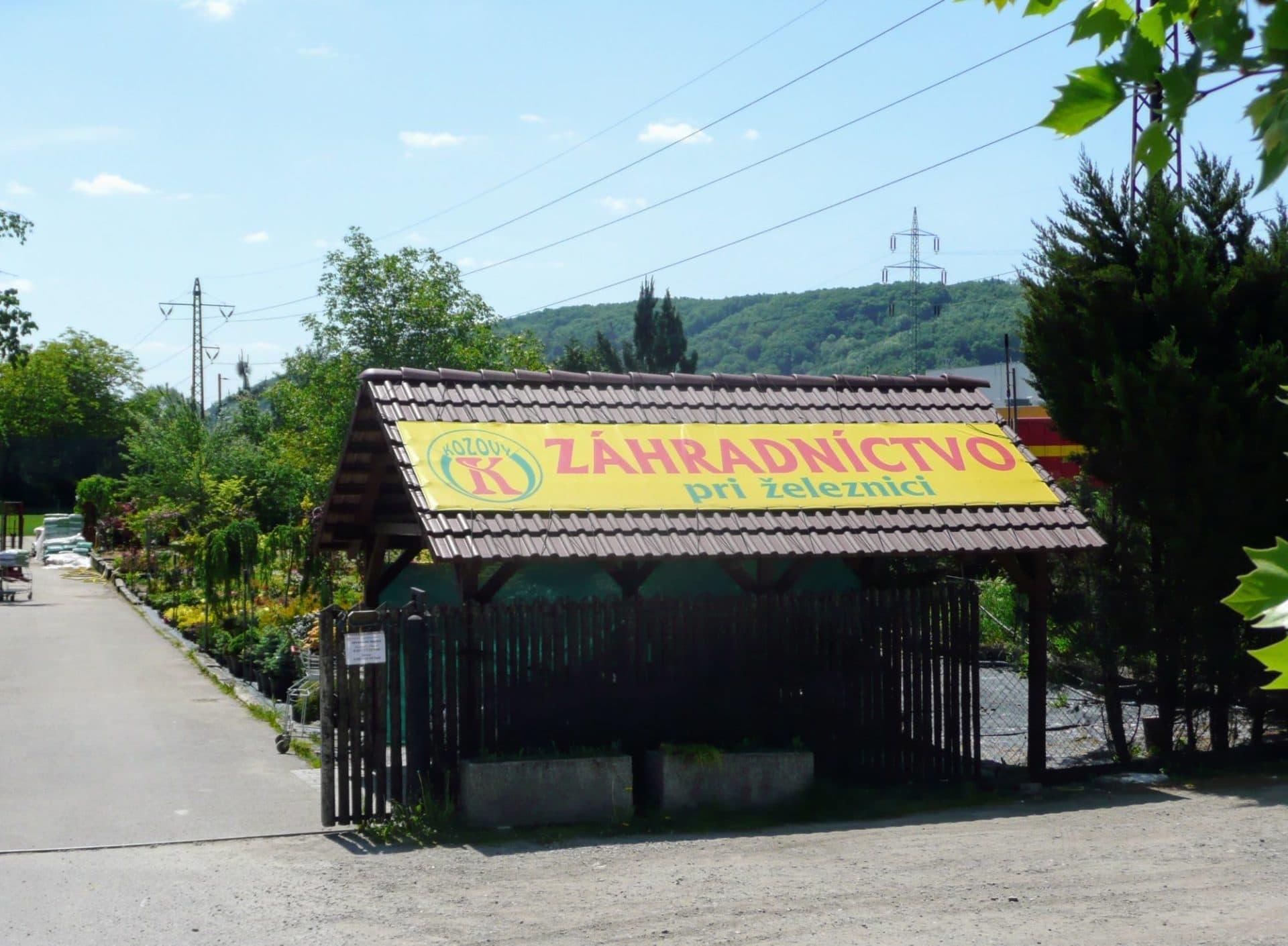 Záhradníctvo pri železnici (rastliny do 20 kg)
