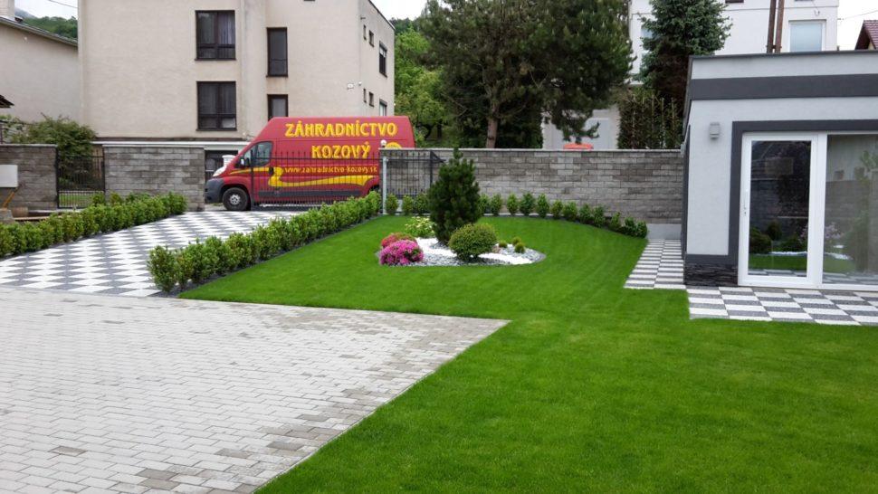 Záhrada Košeca solitér