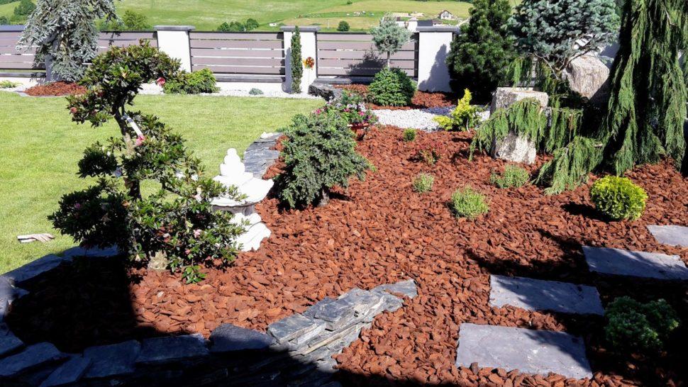 Záhrada Kotrčina Lúčka okrasné dreviny