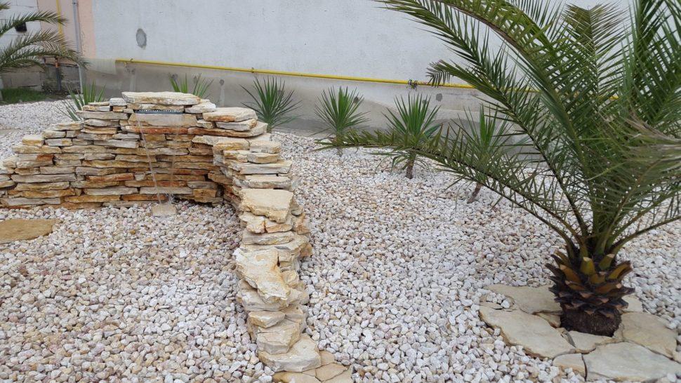 Záhrada Púchov tečenie palma