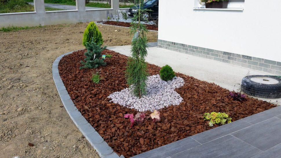 Záhrada Sverepec ihličnany