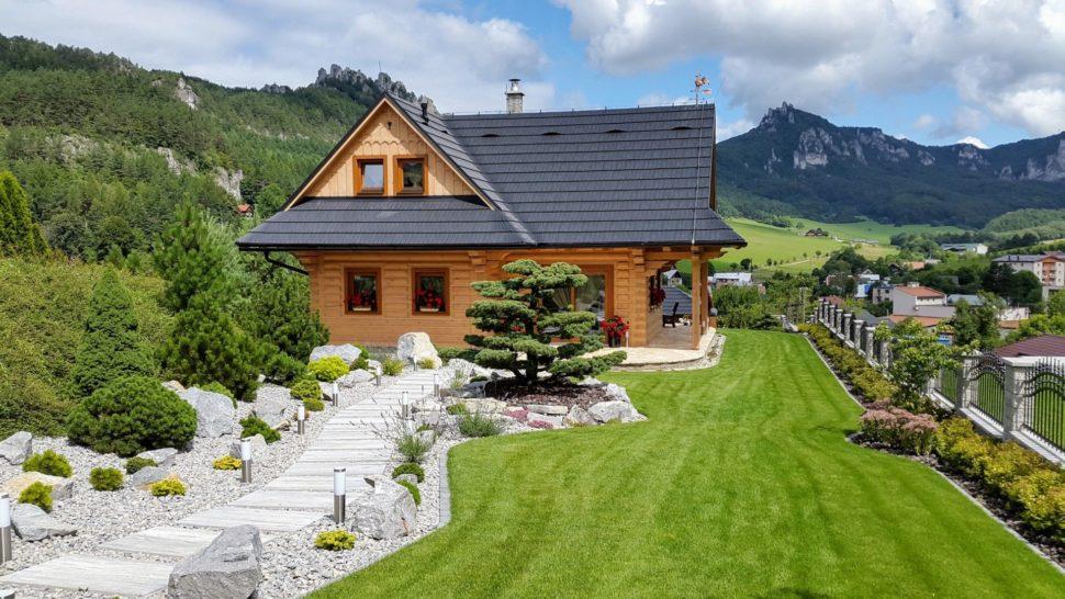 Záhrada chata Súľov